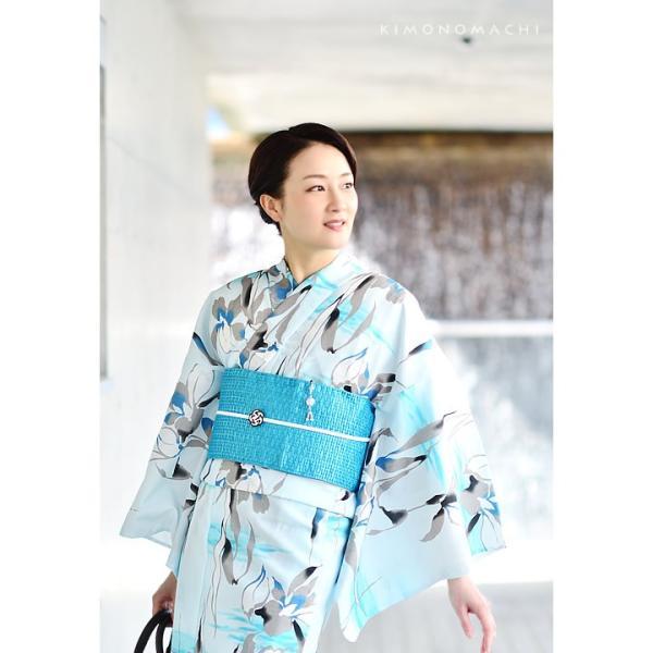 (Prices down)女性浴衣セット レディース浴衣福袋2点セット 大人 KIMONOMACHI ポリエステル浴衣と帯のセット サイズS/F/TL/LLss1909ykl30|kimonomachi|07