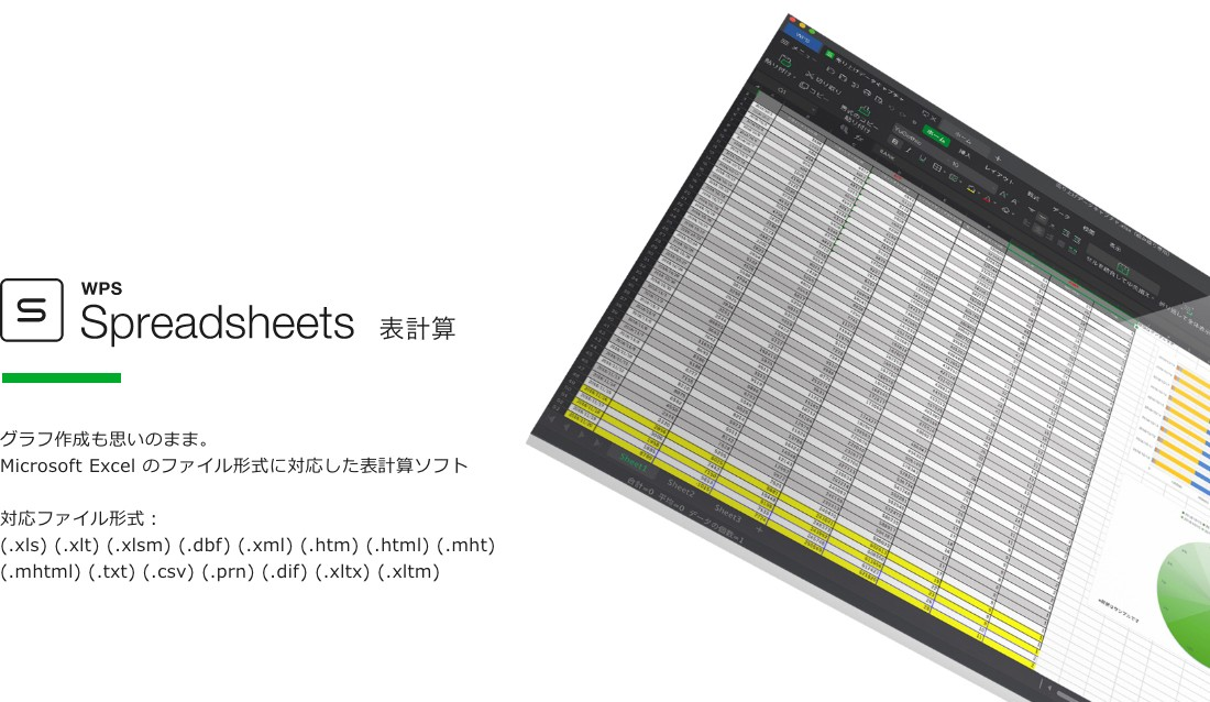 WPS Office for Mac Spreadsheet