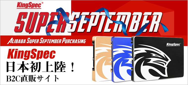 KingSpec日本初上陸!B2C直販サイト