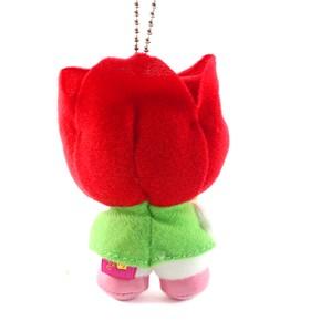 ご当地キティ富山限定「チューリップ人形抱/ぬいぐるみ(S)」