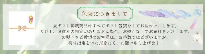 【夏ギフトのし】