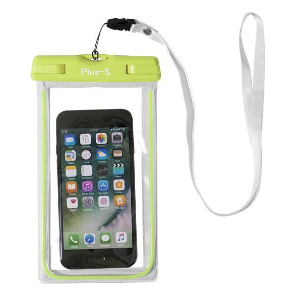 防水ケース iPhone 8 XR スマホ 海 お金 防水カバー スマートフォン ポーチ プール Xperia AQUOS Galaxy|kintsu|15