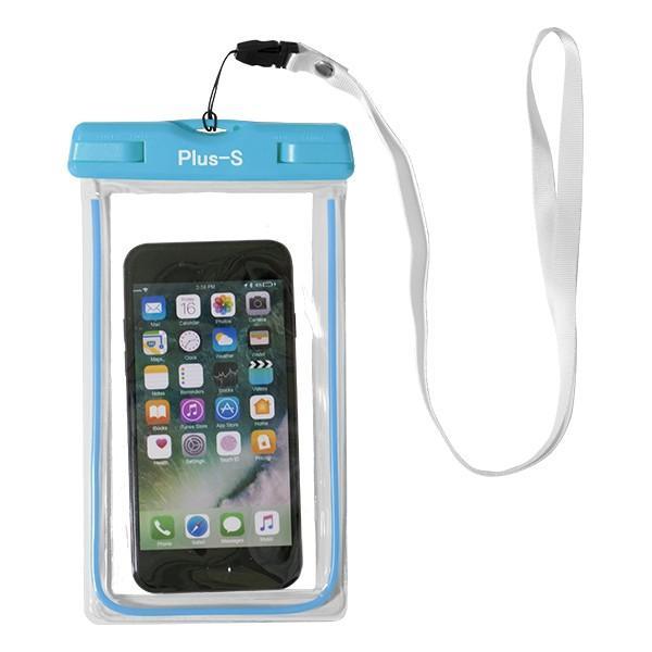 防水ケース iPhone 8 XR スマホ 海 お金 防水カバー スマートフォン ポーチ プール Xperia AQUOS Galaxy|kintsu|16