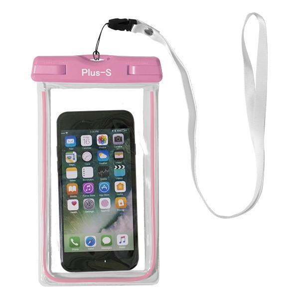 防水ケース iPhone 8 XR スマホ 海 お金 防水カバー スマートフォン ポーチ プール Xperia AQUOS Galaxy|kintsu|17