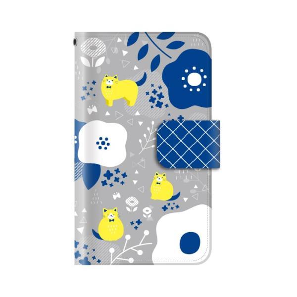 スマホケース 手帳型 全機種対応 iphone8 iPhone XR AQUOS r3 sense2 ケース Xperia 1 xz3 xz2 GALAXY S10 携帯ケース アンドロイド 動物|kintsu|09