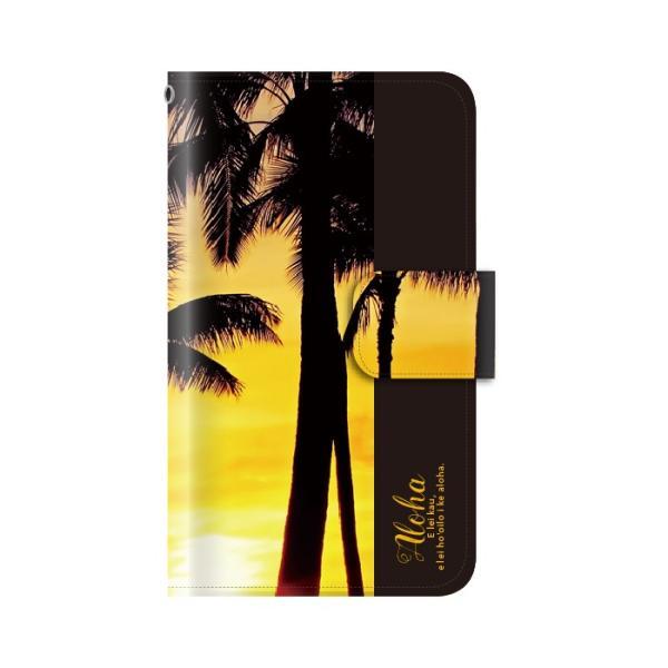 スマホケース 手帳型 全機種対応 iphone8 iPhone XR AQUOS r3 sense2 ケース Xperia 1 ace xz3 xz2 GALAXY S10 携帯ケース アンドロイド ハワイ|kintsu|06