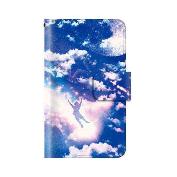 スマホケース 手帳型 iphonexs ケース 携帯ケース アイフォンxs スマホカバー 手帳 アイホン おしゃれ 面白い  宇宙|kintsu|06