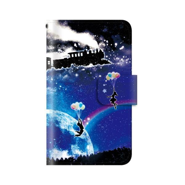 スマホケース 手帳型 iphonexs ケース 携帯ケース アイフォンxs スマホカバー 手帳 アイホン おしゃれ 面白い  宇宙|kintsu|11