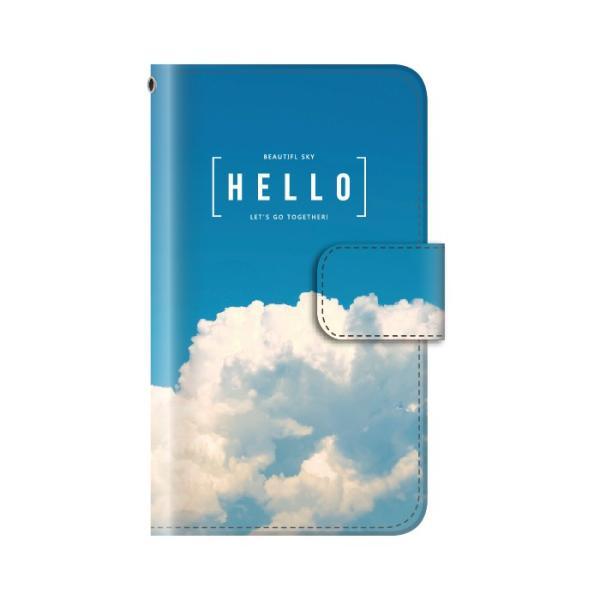 スマホケース 手帳型 iphonexs ケース 携帯ケース アイフォンxs スマホカバー 手帳 アイホン おしゃれ 面白い  空|kintsu|07