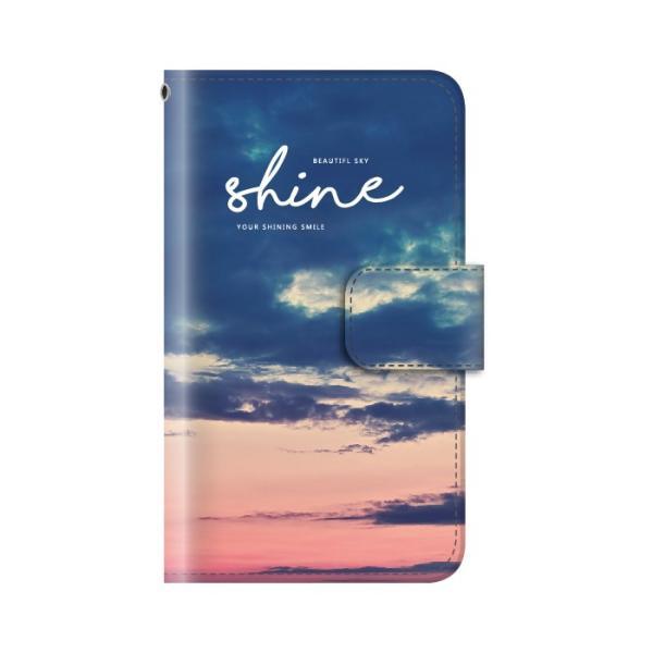 スマホケース 手帳型 iphonexs ケース 携帯ケース アイフォンxs スマホカバー 手帳 アイホン おしゃれ 面白い  空|kintsu|08