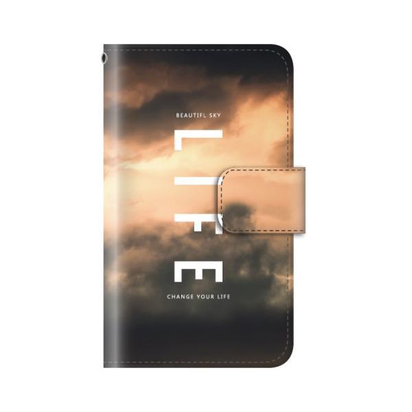 スマホケース 手帳型 iphonexs ケース 携帯ケース アイフォンxs スマホカバー 手帳 アイホン おしゃれ 面白い  空|kintsu|10
