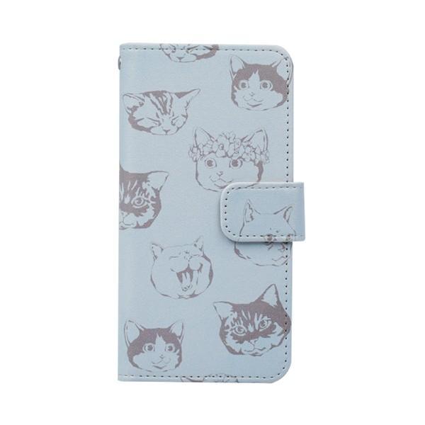 猫 スマホケース 手帳型 iphonexs ケース 携帯ケース アイフォンxs スマホカバー 手帳 アイホン おしゃれ 動物 花柄|kintsu|14