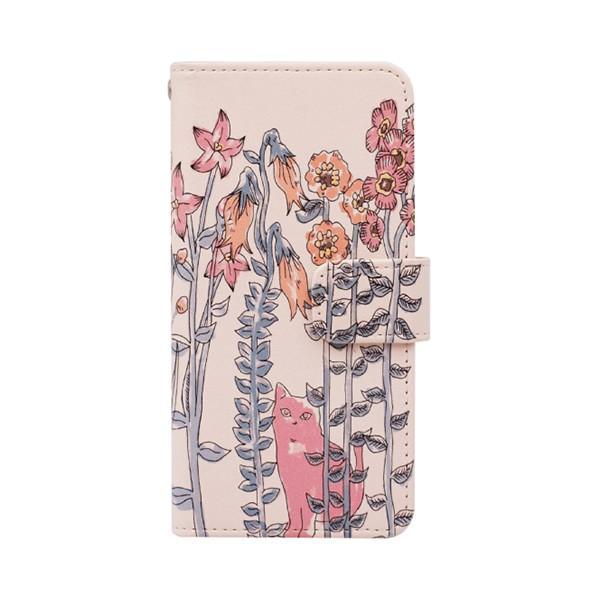 猫 スマホケース 手帳型 iphonexs ケース 携帯ケース アイフォンxs スマホカバー 手帳 アイホン おしゃれ 動物 花柄|kintsu|15