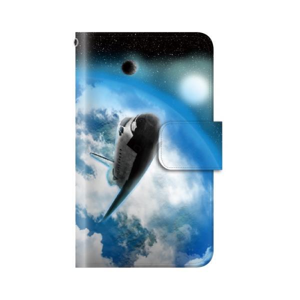 スマホケース 手帳型 iphone7plus iphone7プラス アイフォン7 プラス 携帯ケース 手帳 アイホン おしゃれ 宇宙|kintsu|06