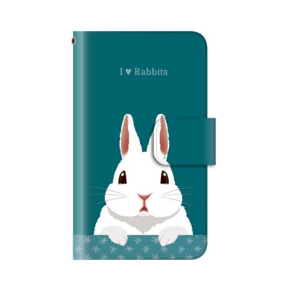 スマホケース 手帳型 iphone8 ケース アイフォン8 携帯ケース スマホカバー 手帳 アイホン おしゃれ 面白い うさぎ|kintsu|05
