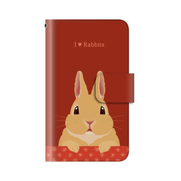スマホケース 手帳型 iphone8 ケース アイフォン8 携帯ケース スマホカバー 手帳 アイホン おしゃれ 面白い うさぎ|kintsu|06