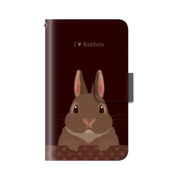 スマホケース 手帳型 iphone8 ケース アイフォン8 携帯ケース スマホカバー 手帳 アイホン おしゃれ 面白い うさぎ|kintsu|08