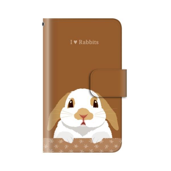 スマホケース 手帳型 iphone8 ケース アイフォン8 携帯ケース スマホカバー 手帳 アイホン おしゃれ 面白い うさぎ|kintsu|09