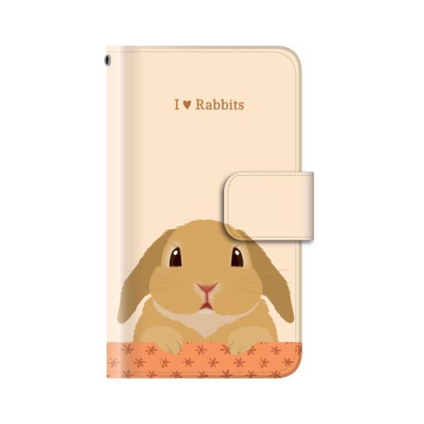 スマホケース 手帳型 iphone8 ケース アイフォン8 携帯ケース スマホカバー 手帳 アイホン おしゃれ 面白い うさぎ|kintsu|10