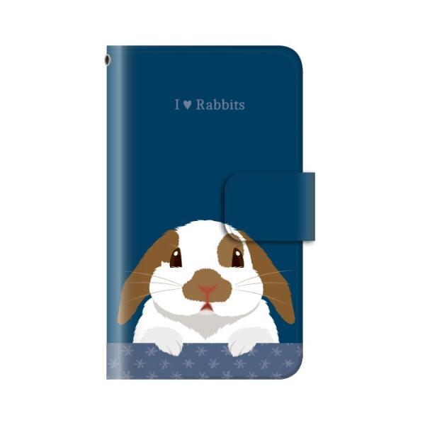 スマホケース 手帳型 iphone8 ケース アイフォン8 携帯ケース スマホカバー 手帳 アイホン おしゃれ 面白い うさぎ|kintsu|11