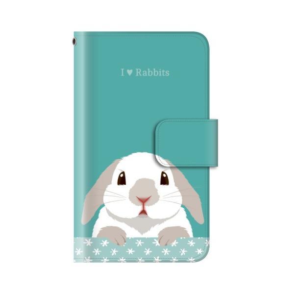 スマホケース 手帳型 iphone8 ケース アイフォン8 携帯ケース スマホカバー 手帳 アイホン おしゃれ 面白い うさぎ|kintsu|12