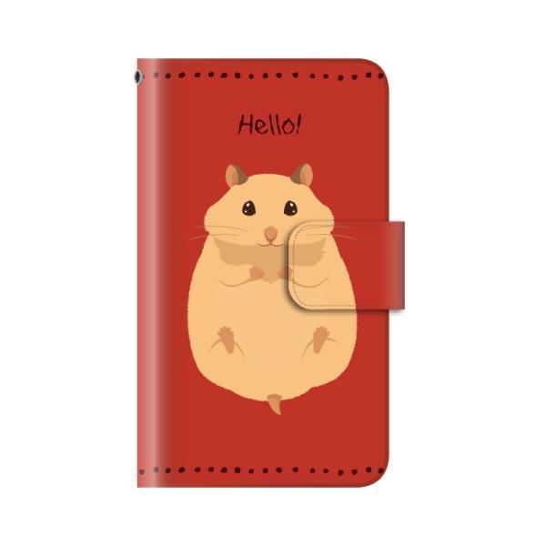 スマホケース 手帳型 iphonex ケース 携帯ケース アイフォンx スマホカバー 手帳 アイホン おしゃれ 面白い ハムスター|kintsu|05