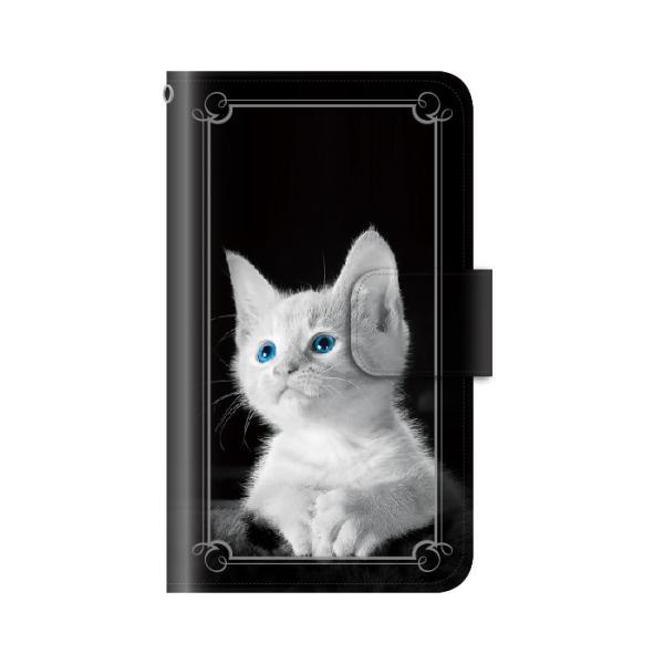猫 スマホケース 手帳型 iphone7plus iphone7プラス アイフォン7 プラス 携帯ケース 手帳 アイホン おしゃれ 猫|kintsu|06