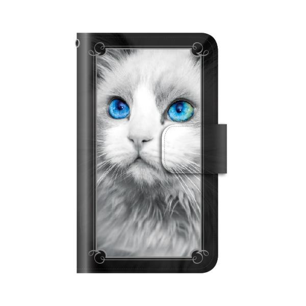 猫 スマホケース 手帳型 iphone7plus iphone7プラス アイフォン7 プラス 携帯ケース 手帳 アイホン おしゃれ 猫|kintsu|07