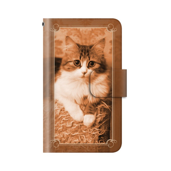 猫 スマホケース 手帳型 iphone8plus iphone8プラス アイフォン8 プラス 携帯ケース 手帳 アイホン おしゃれ 猫|kintsu|08