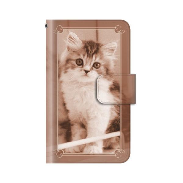 猫 スマホケース 手帳型 iphone8plus iphone8プラス アイフォン8 プラス 携帯ケース 手帳 アイホン おしゃれ 猫|kintsu|09