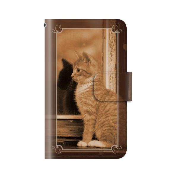 猫 スマホケース 手帳型 iphone7plus iphone7プラス アイフォン7 プラス 携帯ケース 手帳 アイホン おしゃれ 猫|kintsu|10