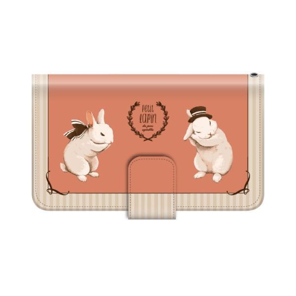 スマホケース 手帳型 iphonexr 携帯ケース アイフォンxr スマホカバー 手帳 アイホン おしゃれ 面白い 動物 うさぎ|kintsu|05