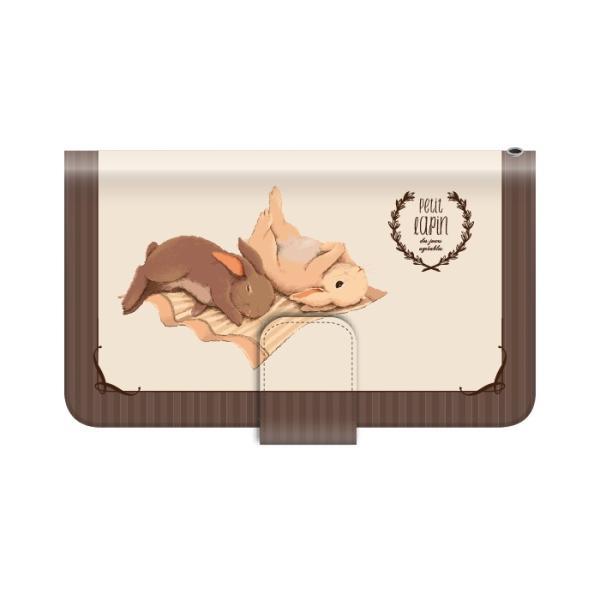 スマホケース 手帳型 iphonexr 携帯ケース アイフォンxr スマホカバー 手帳 アイホン おしゃれ 面白い 動物 うさぎ|kintsu|10