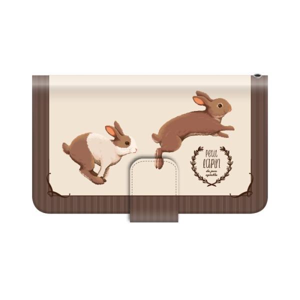 スマホケース 手帳型 iphonexr 携帯ケース アイフォンxr スマホカバー 手帳 アイホン おしゃれ 面白い 動物 うさぎ|kintsu|12