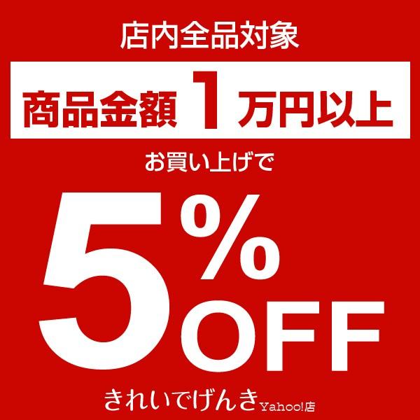 【店内全品対象】 10,000円以上のお買い物で5%OFFクーポン