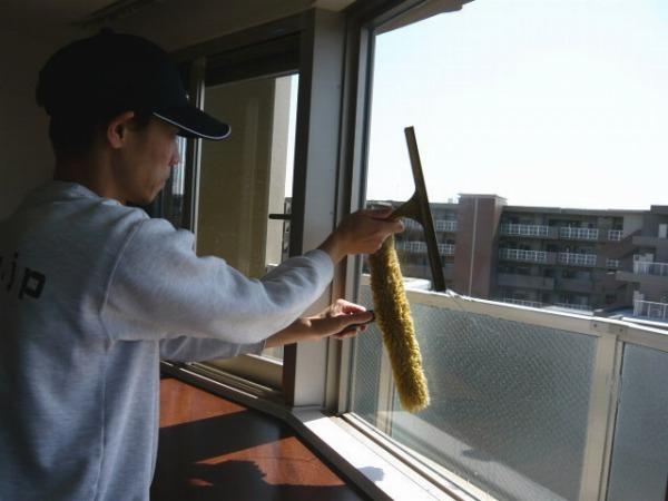 【簡単キレイ!プロの窓掃除セット】ガラススクイジー&ウォッシャーセット