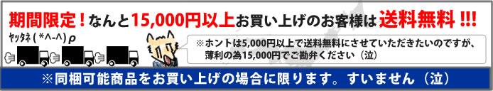 期間限定 なんと10,000円以上お買い上げのお客様は送料無料