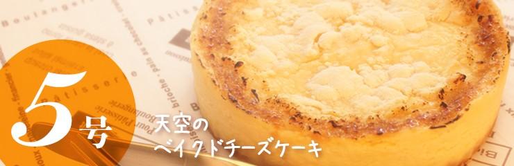 天空のベイクドチーズケーキ5号