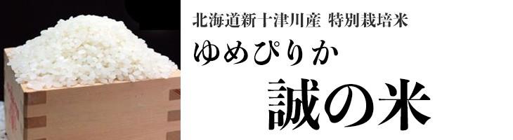 【北海道新十津川直送】誠の米 ゆめぴりか 10kg