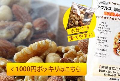 ミックスナッツ 1000円