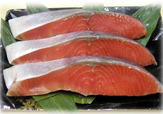 チリ産塩銀鮭1切れ :g020:黒門市...