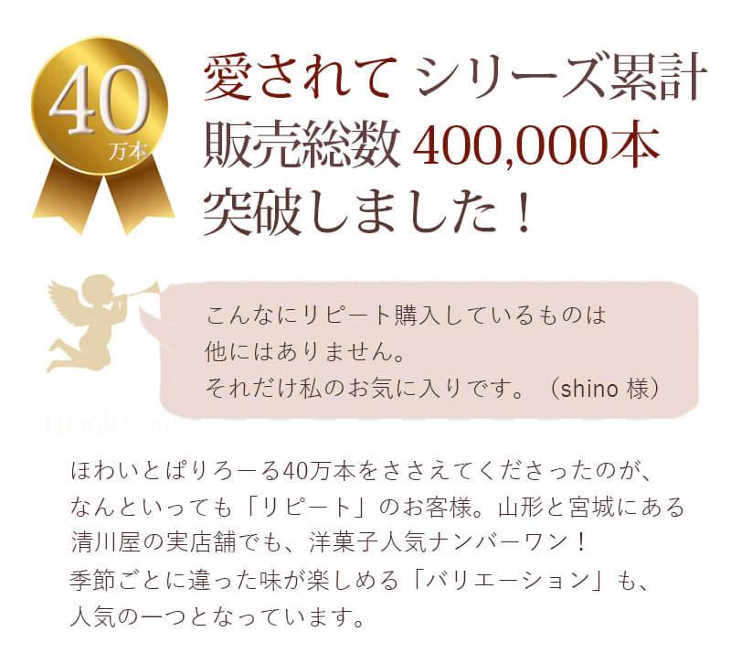 シリーズ累計40万本突破しました!