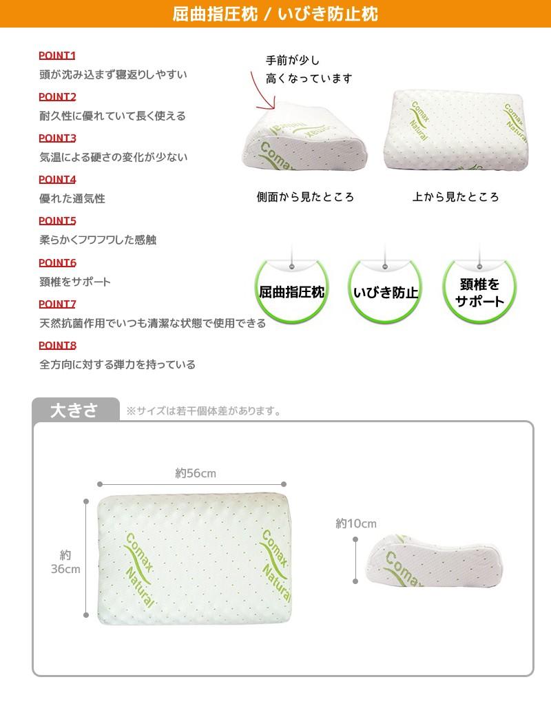 COMAXいびき防止枕
