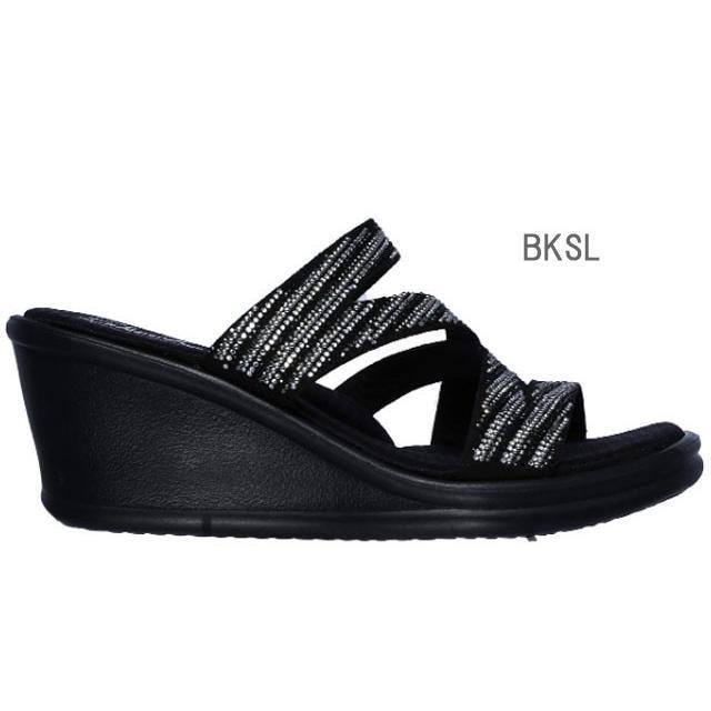 スケッチャーズ SKECHERS 32925 RUMBLERS-MEGA FLASH サンダル レディース 婦人 BKSL ブラック/シルバー WSL ホワイト/シルバー 靴 kksimple 06