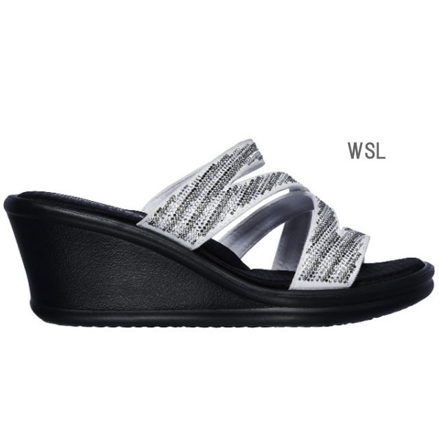 スケッチャーズ SKECHERS 32925 RUMBLERS-MEGA FLASH サンダル レディース 婦人 BKSL ブラック/シルバー WSL ホワイト/シルバー 靴 kksimple 07