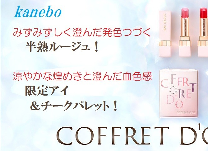 CDシャイニーコレクションアイ&チーク・ピュアリーステイルージュ2017.6 TOP