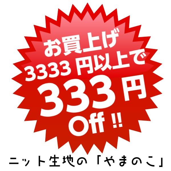 3333円で333円オフクーポン