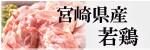 """宮崎産""""若鶏""""各種"""