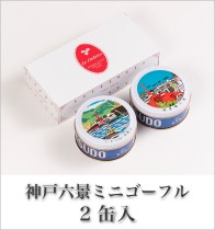 神戸六景ミニゴーフル 2入