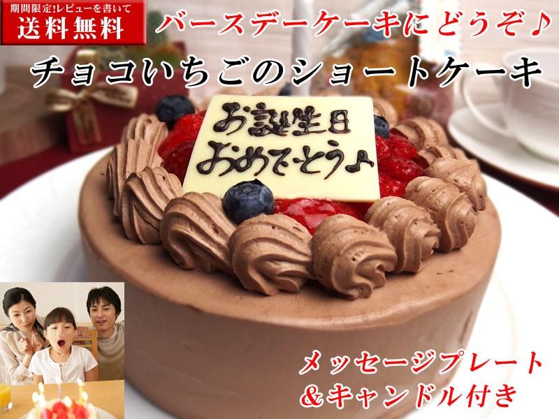 チョコ&いちごショートケーキ